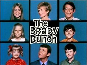 Details about 1970s The Brady Bunch TV Show logo magnet.