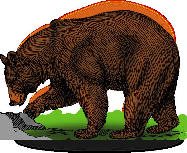 Detailed Brown Bear Art Clip Art at Clker.com.