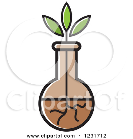 Clipart of a Brown Pottery Jug Icon.