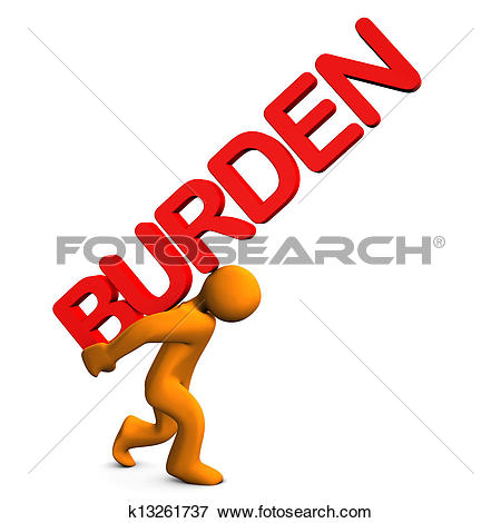 Stock Illustration of Burden k13261737.