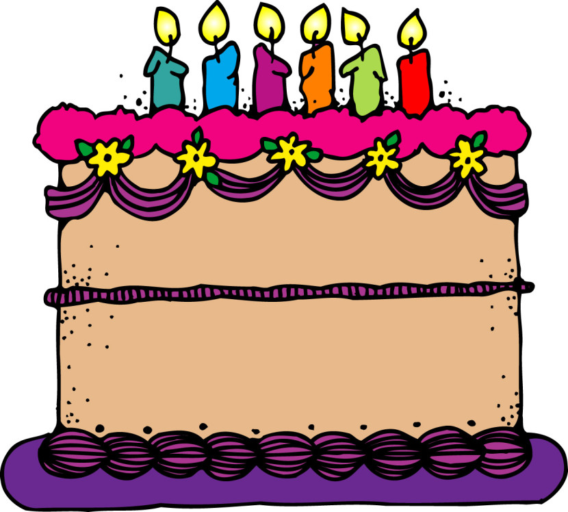 Clipart birthday cake free.