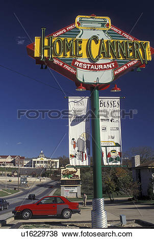 Pictures of Branson, MO, Missouri, The Strip along 76 Country.