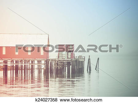 Pictures of The Cannery in Fog k24027358.