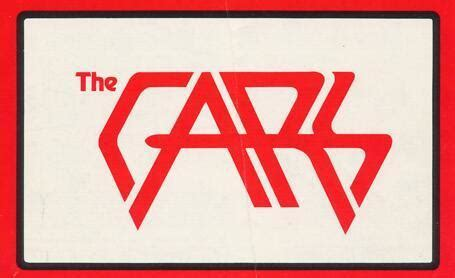 The cars band Logos.