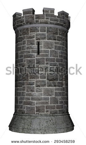 Castle Turret Stock Photos, Royalty.