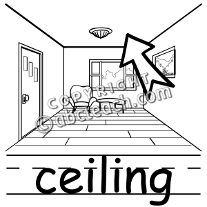Ceiling 20clipart.