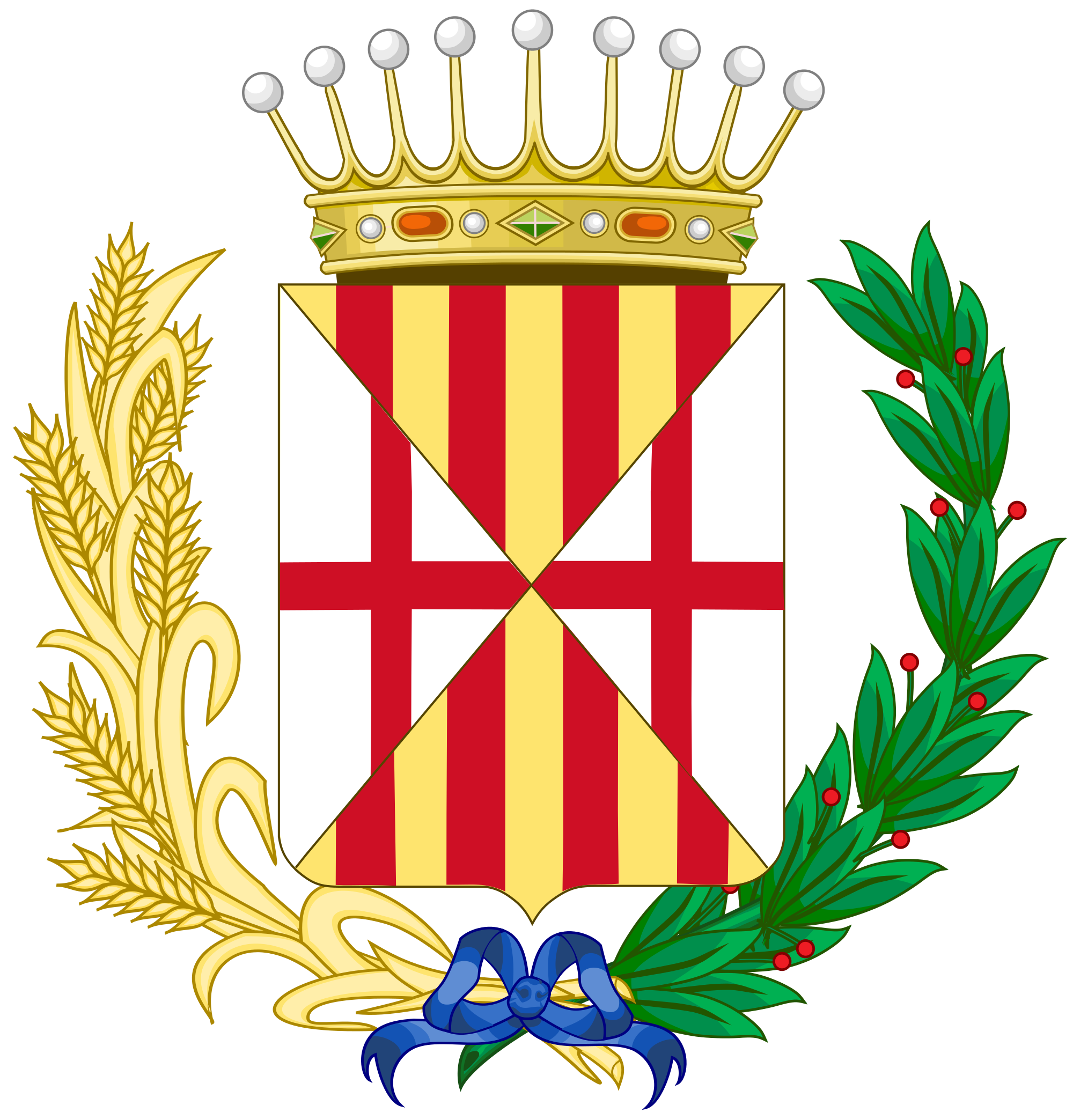 File:Coat of Arms of Cerdanya Comarca.svg.