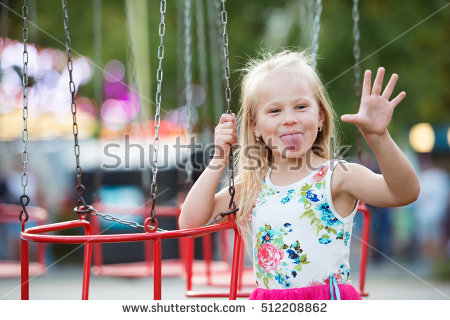 Swing Chains Stock Images, Royalty.