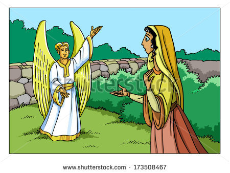 Angel Gabriel Stock Images, Royalty.