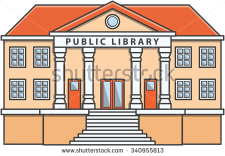 Public Library Building Stock Photos, Royalty.