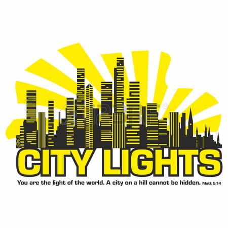 Clipart hd city lights.