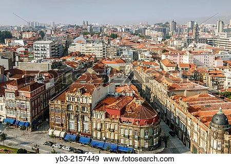 Stock Photograph of The Modern City Of Porto, Portugal. yb3.
