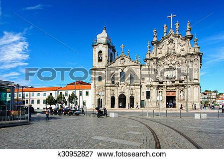 Picture of Churches in Porto city, Portugal k30952827.