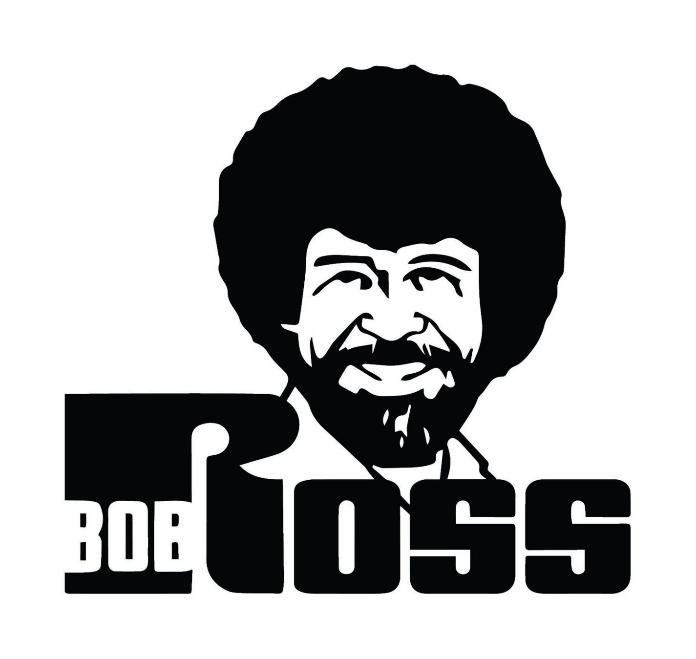 Bob Ross Clipart.
