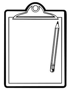 Clipboard Clip Art, Clipboard Free Clipart.