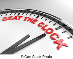 The clock of life clipart #17