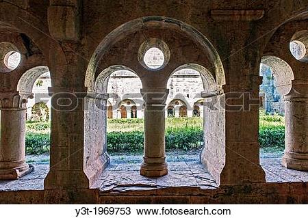 Stock Photo of Europe, France, Var, Le Thoronet, Cistercian Abbey.
