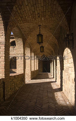 Stock Photography of Arches of the cloister k1004350.
