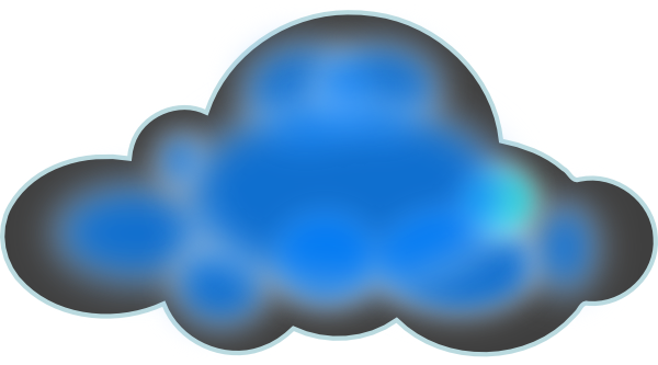 Night Cloud Clipart.