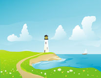 Coastal Stock Illustrations.
