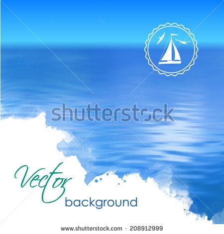 Cold Sea Stock Vectors & Vector Clip Art.