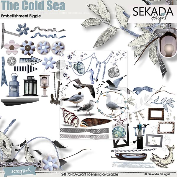 The Cold Sea Collection.