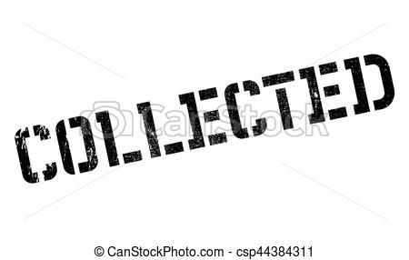 Vector Clip Art of Collected rubber stamp. Grunge design with dust.