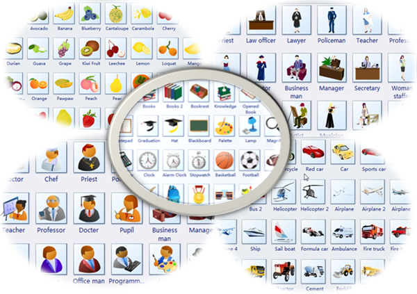 Free Clipart for Presentation, Homework and Diagram Design.