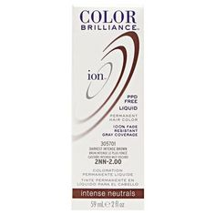 4NN Medium Intense Brown Permanent Liquid Hair Color.