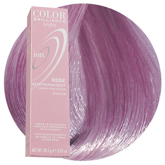 Rose Semi Permanent Hair Color.
