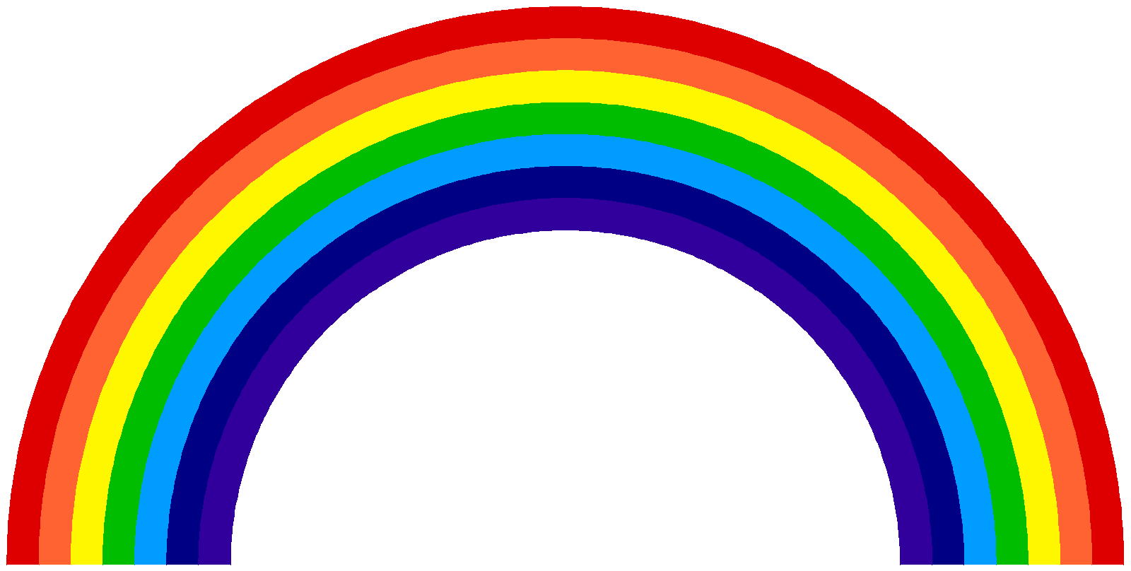 Rainbow Clip Art to Download.