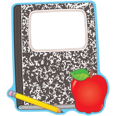 Composition Notebook Clipart.