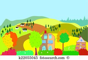 Countryside Clip Art Royalty Free. 15,890 countryside clipart.