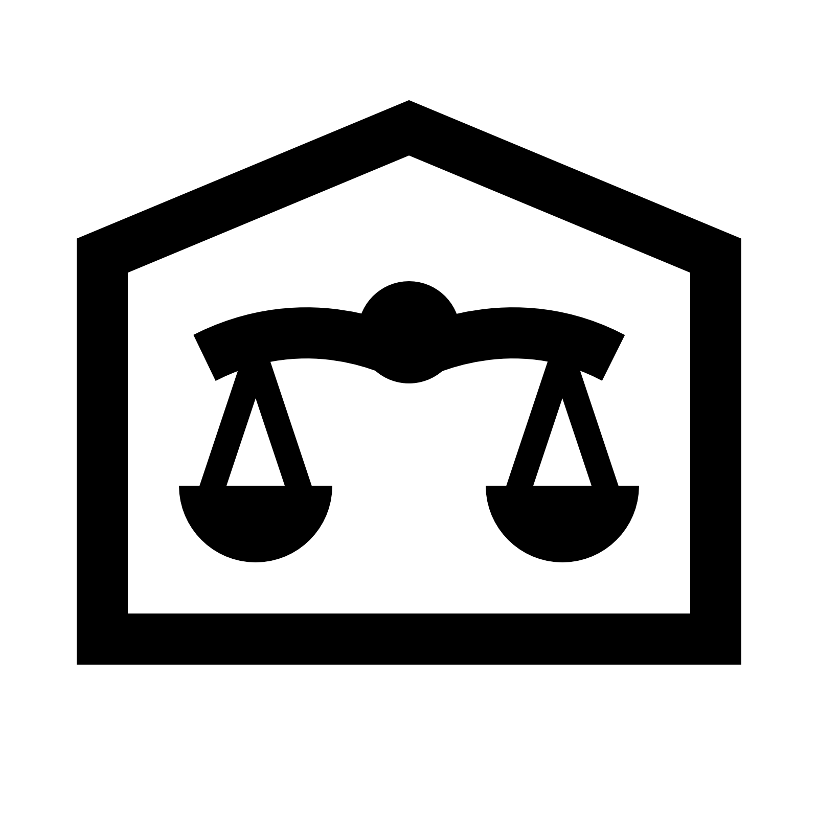 Courthouse Icon.