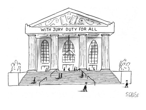 Courthouse Jury Duty Clipart.