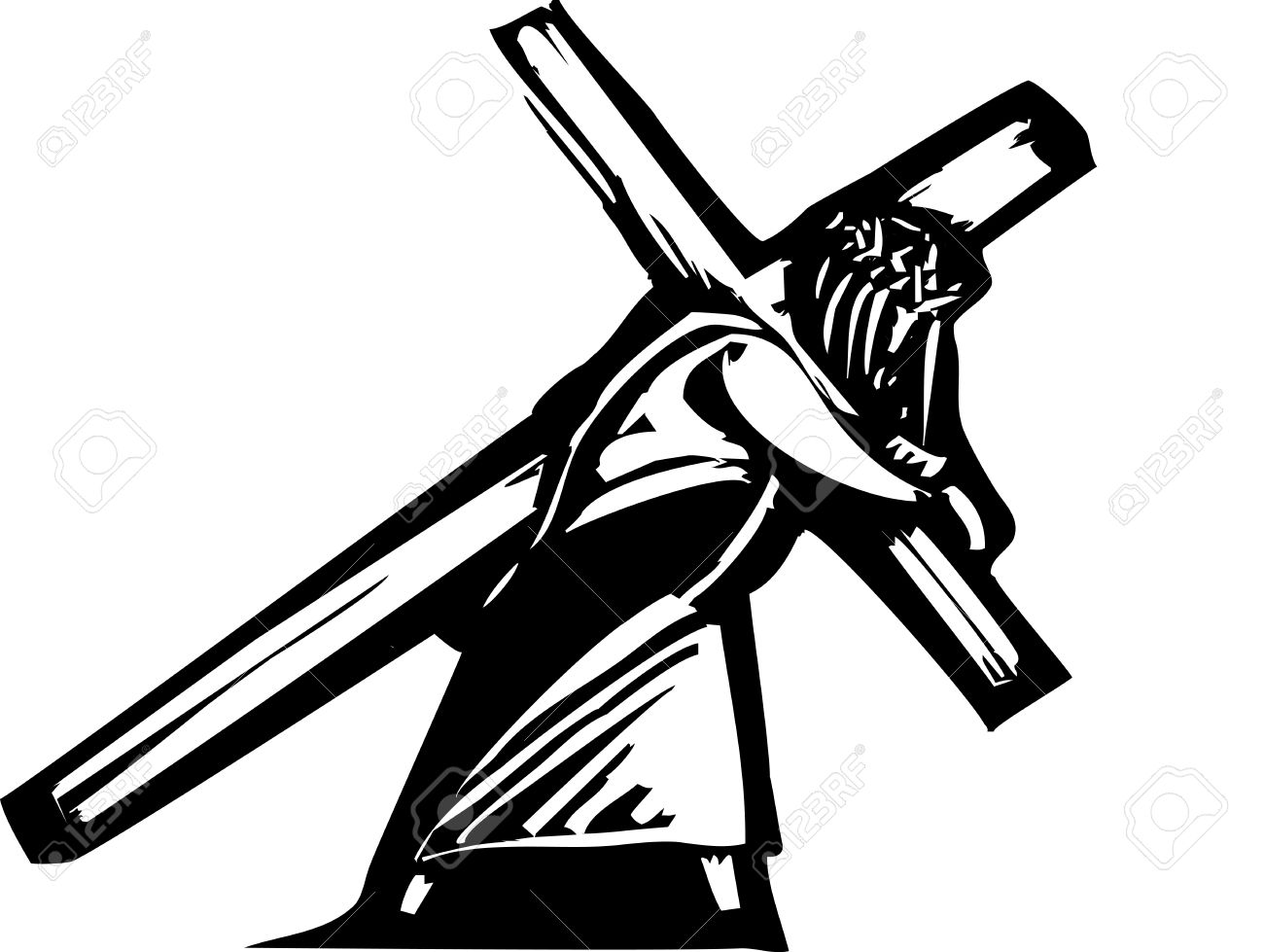 Jesus On The Cross Stock Photos Images. Royalty Free Jesus On The.