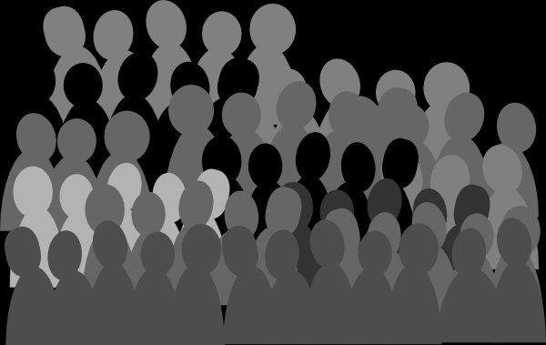 Crowd Clipart#2119949.