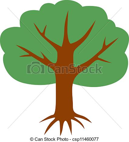 Tree crown clipart.
