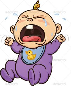 Crying Baby Images Clip Art.