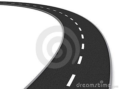 Clipart road curve.