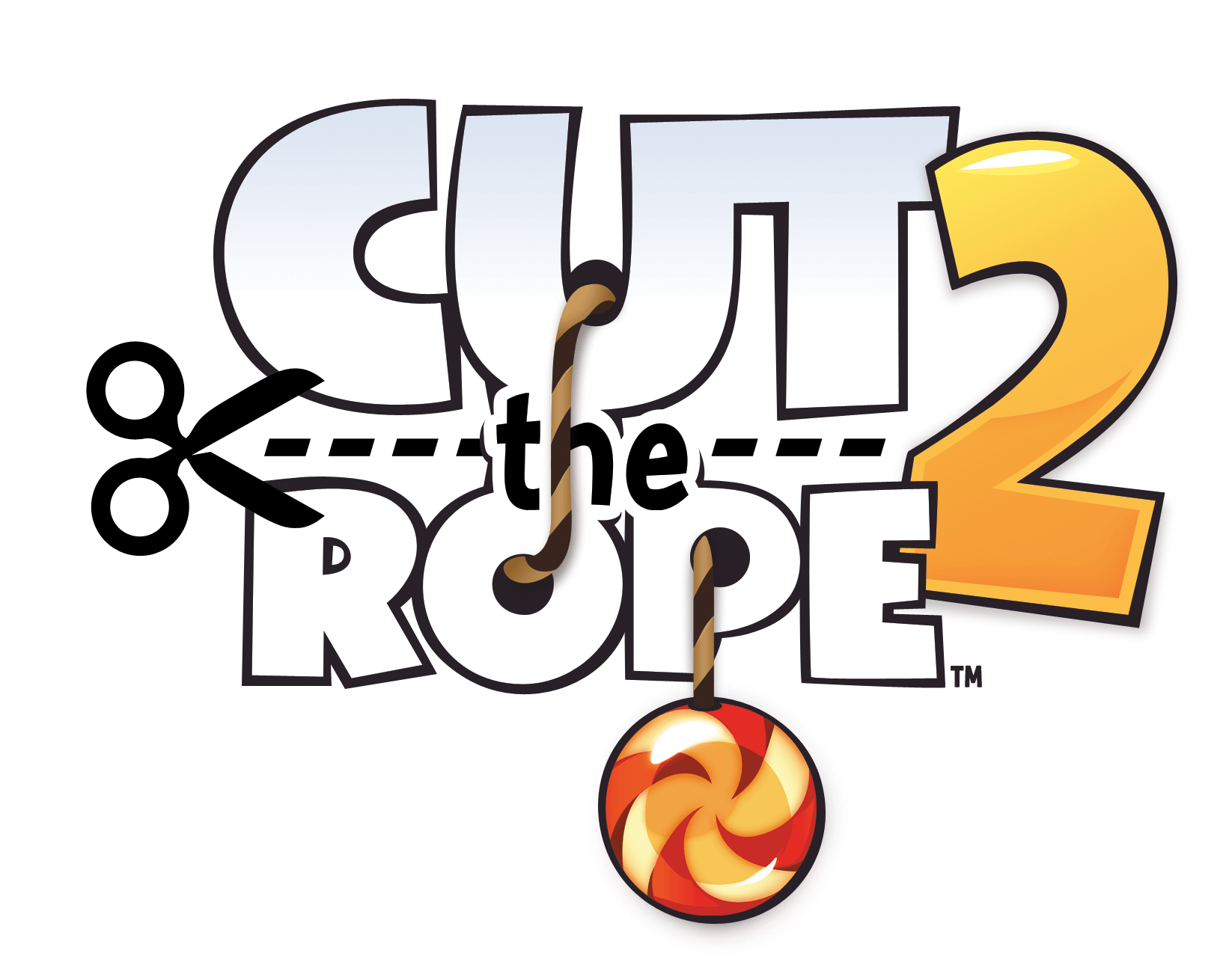 Cut the Rope 2 Logo transparent PNG.