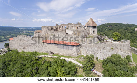 Visegrad Castle Stock Photos, Royalty.