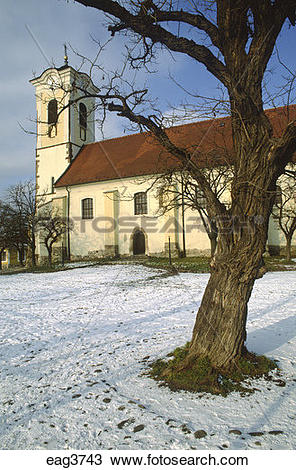 Stock Photo of One of the SERBIAN ORTHODOX CHURCHES of SZENTENDRE.