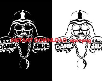Dark Side Clip Art.