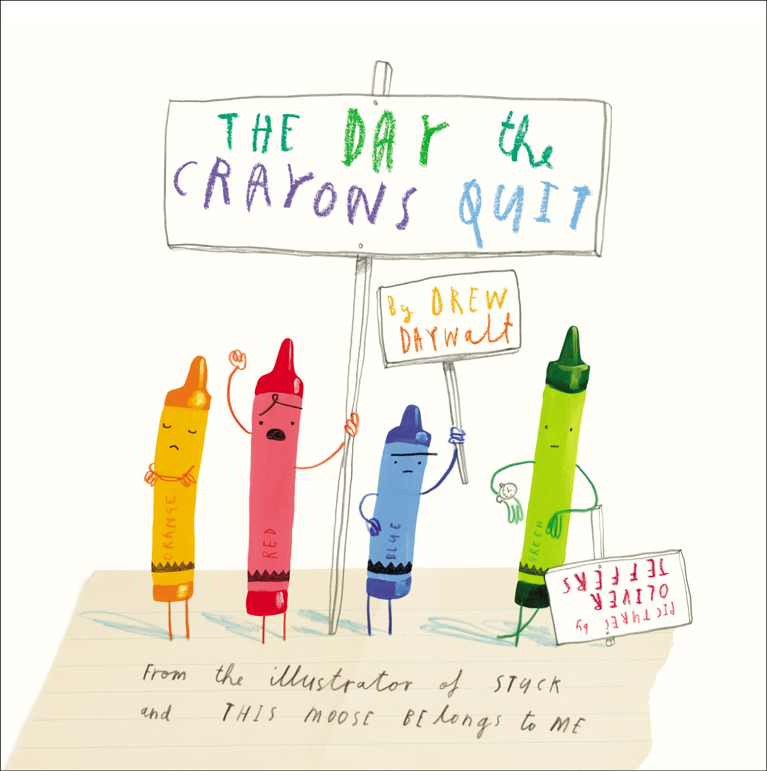 The Day The Crayons Quit Clipart.
