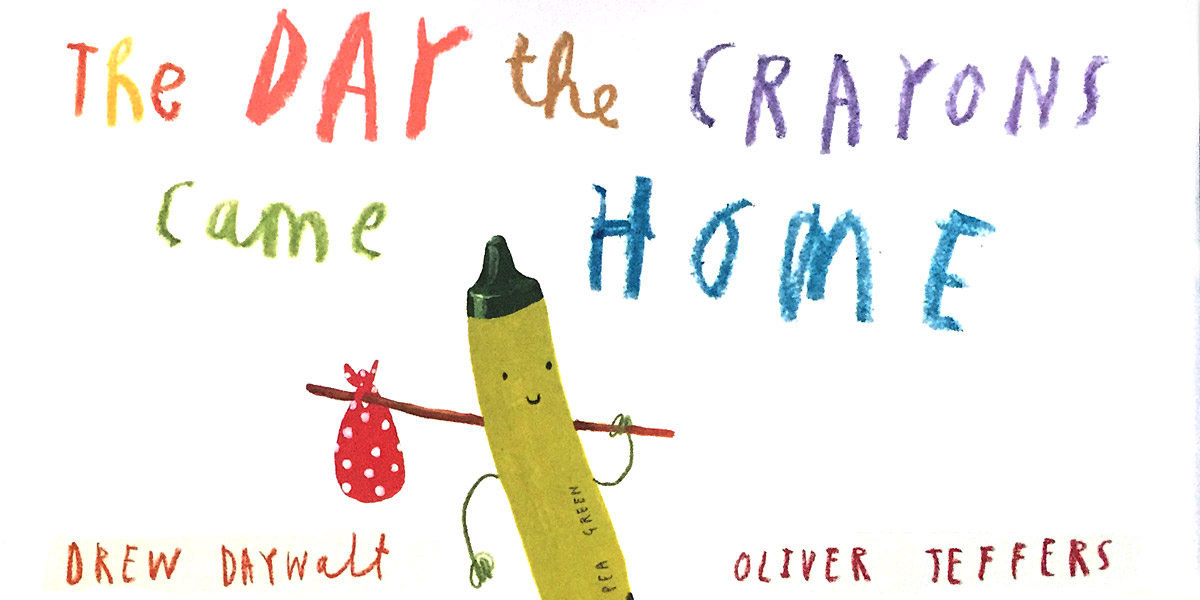 Review: 'The Day the Crayons Came Home'.