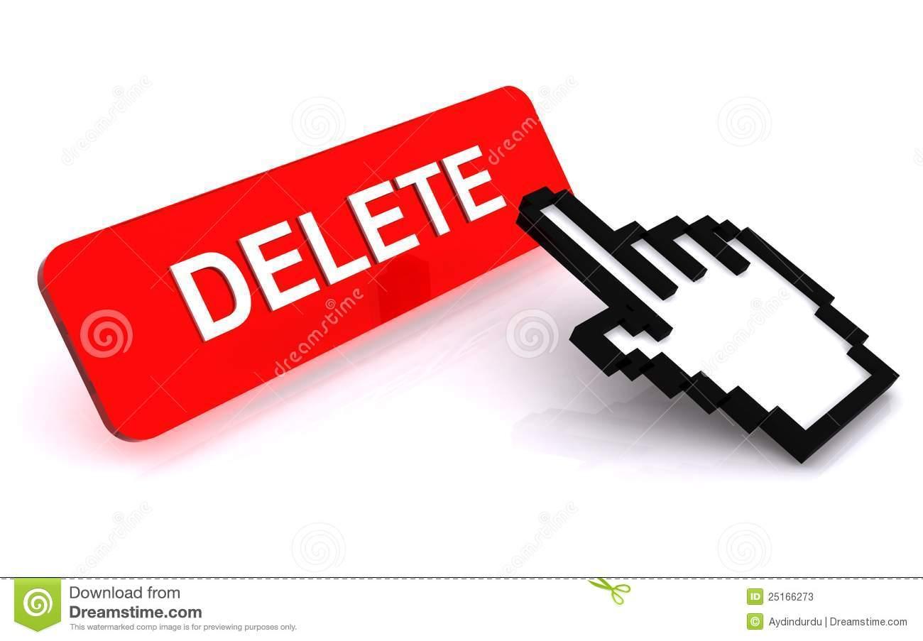Clipart delete button.