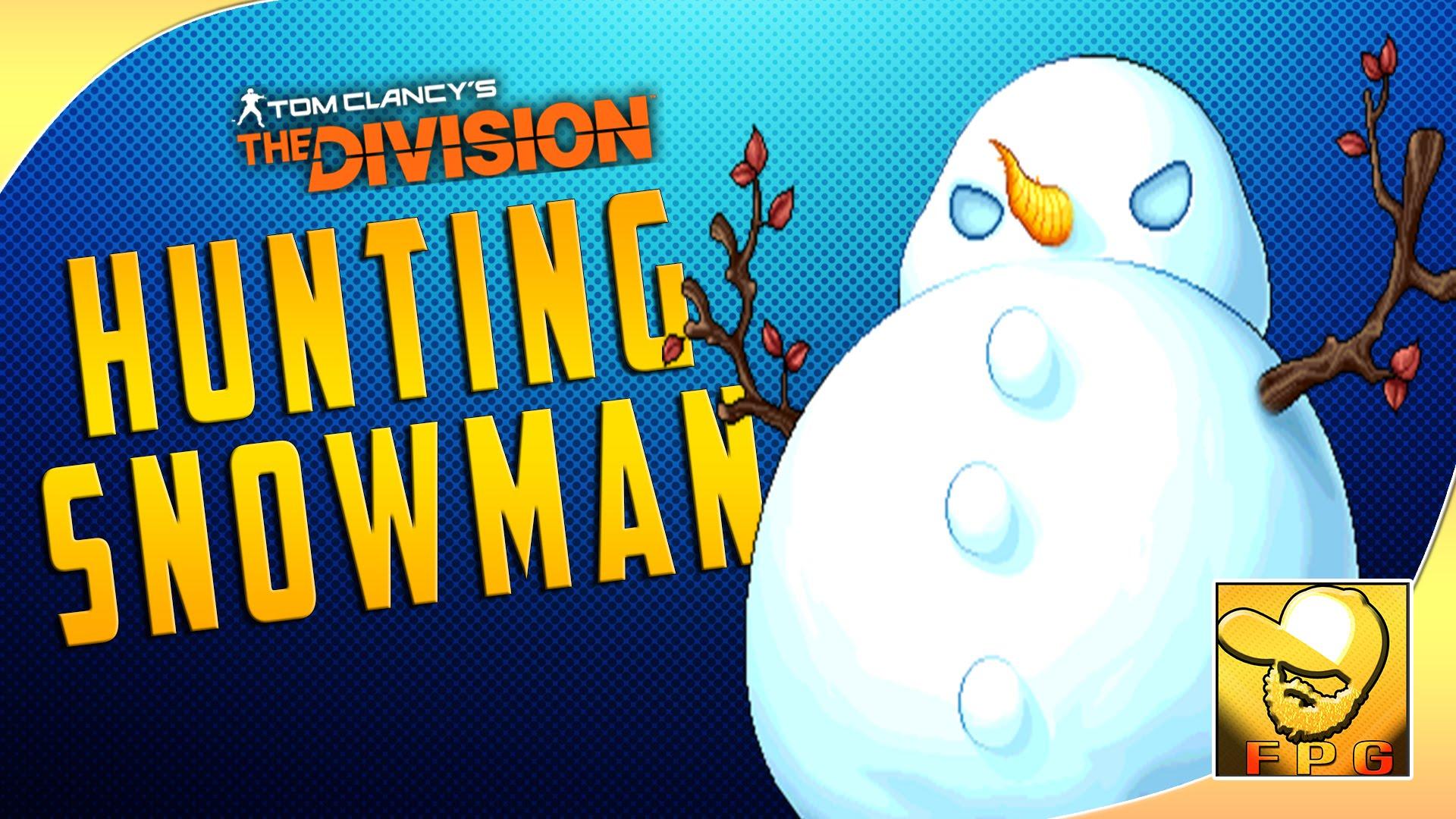 Hunting Snowman.