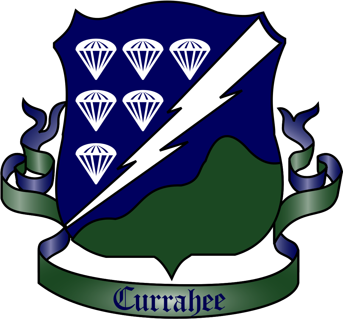 506th Regiment Of The 101st Airborne Division Logo Clipart.