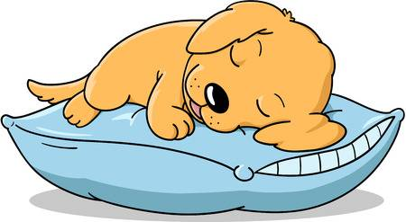 Sleeping dog clipart 1 » Clipart Station.